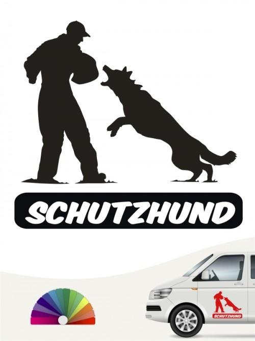 Schutzdienst Sticker Aufkleber von anfalas.de