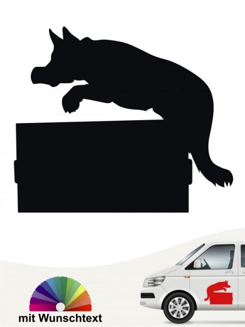Aufkleber Schutzhund Ausbildung anfalas.de