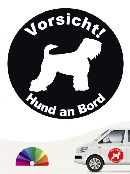 Schwarzer Terrier Aufkleber von anfalas.de
