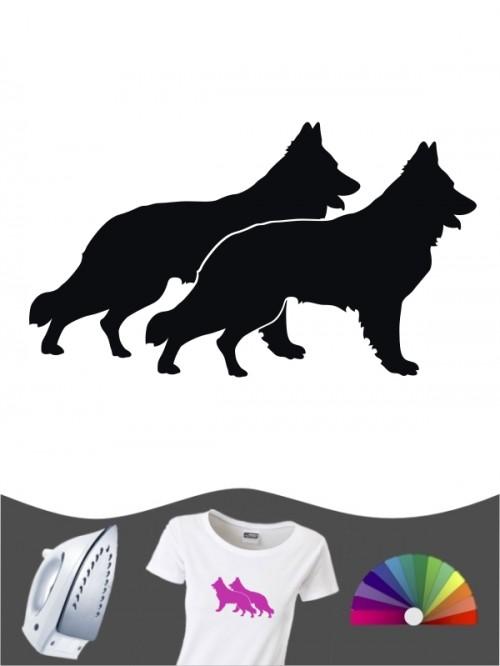 Schweizer Schäferhund 2 Bügelbild