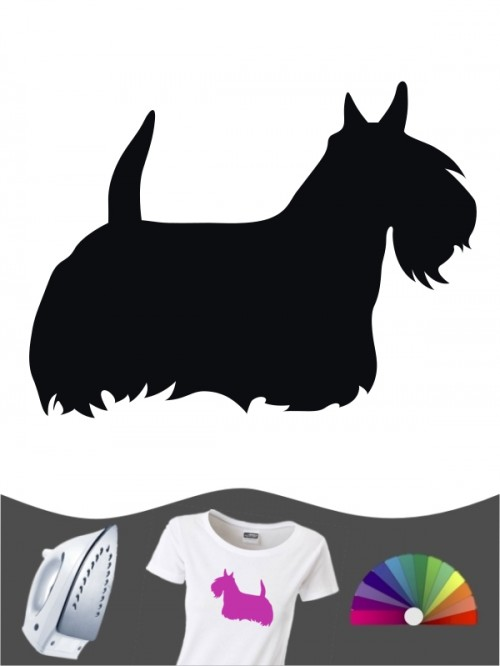 Scottish Terrier 1 - Bügelbild