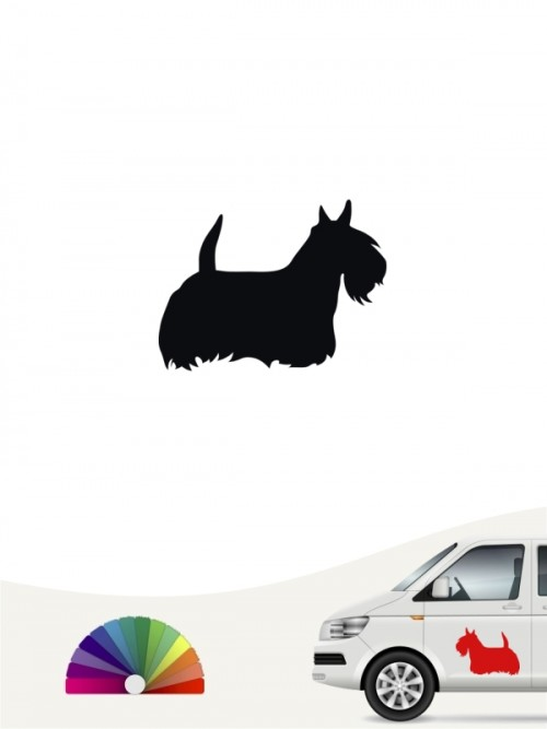 Scottish Terrier Hundeaufkleber anfalas.de