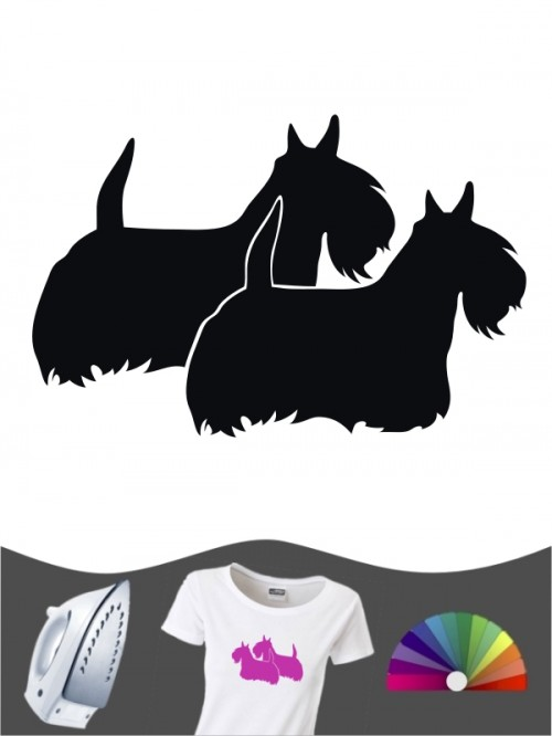 Scottish Terrier 2 - Bügelbild