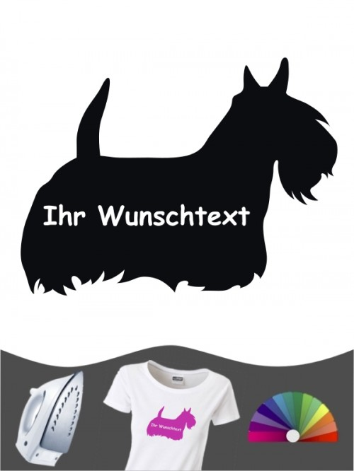 Scottish Terrier 3 - Bügelbild
