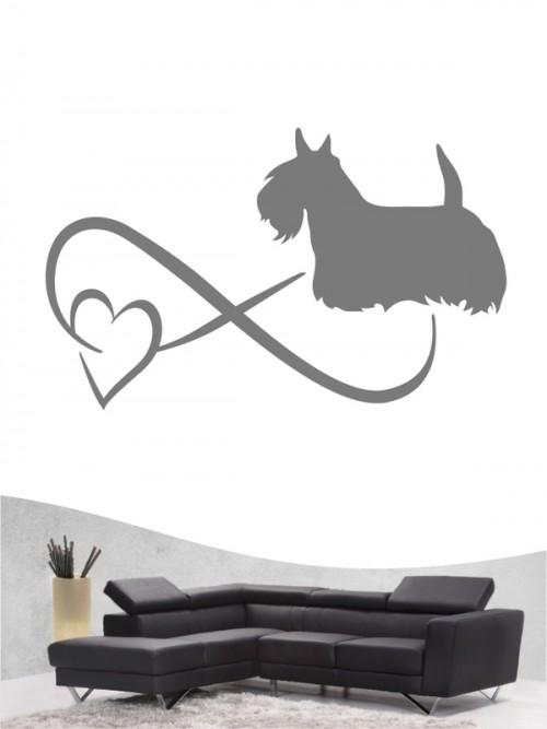 Scottish Terrier 40 - Wandtattoo