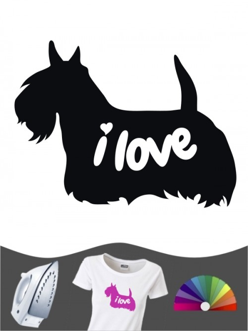 Scottish Terrier 43 - Bügelbild