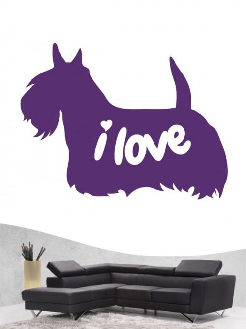 Scottish Terrier 43 - Wandtattoo
