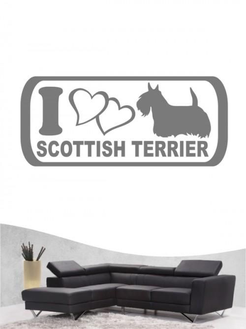 Scottish Terrier 6 - Wandtattoo