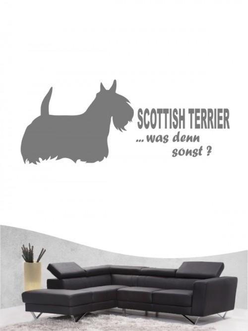Scottish Terrier 7 - Wandtattoo
