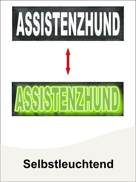 Selbstleuchtende Klettlogo + Wunschlogos by anfalas.de