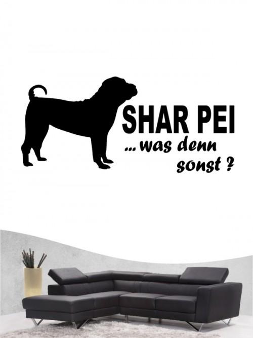 Shar Pei 7 - Wandtattoo