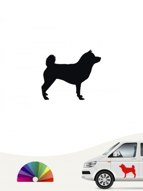 Hunde-Autoaufkleber Shiba Inu 1 Mini von Anfalas.de