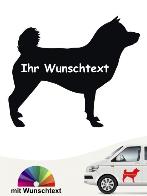 Shiba Inu Hundeaufkleber mit Wunschname anfalas.de