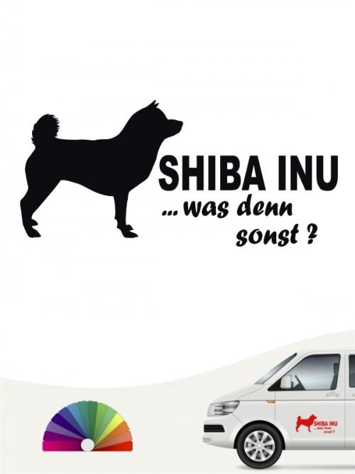 Shiba Inu was denn sonst Autosticker anfalas.de