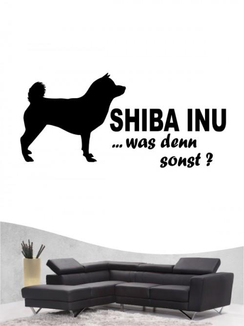 Shiba Inu 7 - Wandtattoo