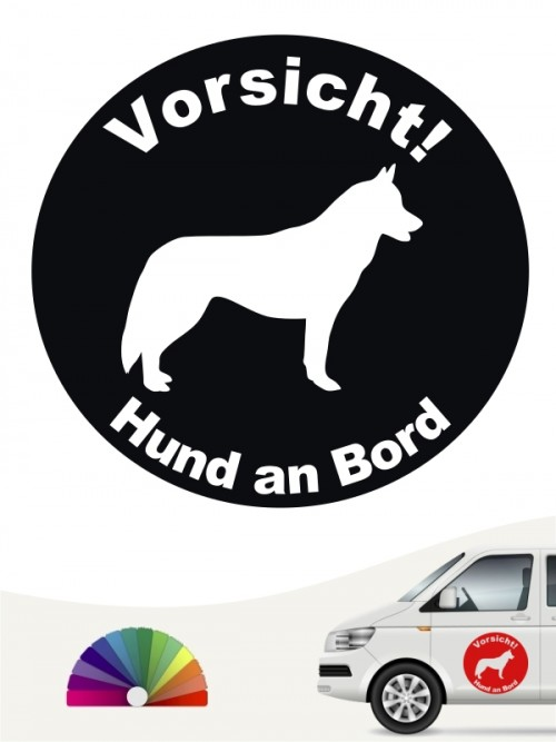 Siberian Husky Aufkleber von anfalas.de