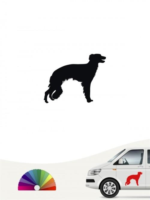 Hunde-Autoaufkleber Silken Windsprite 1 Mini von Anfalas.de