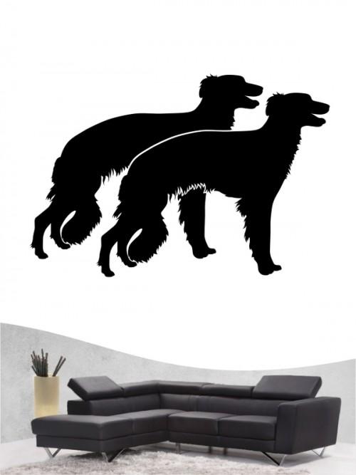 Hunde-Wandtattoo Silken Windsprite 2 von Anfalas.de