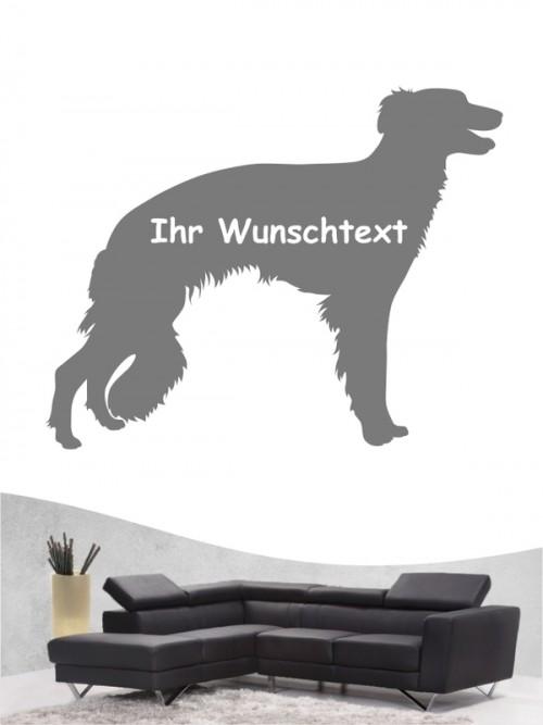 Hunde-Wandtattoo Silken Windsprite 3 von Anfalas.de