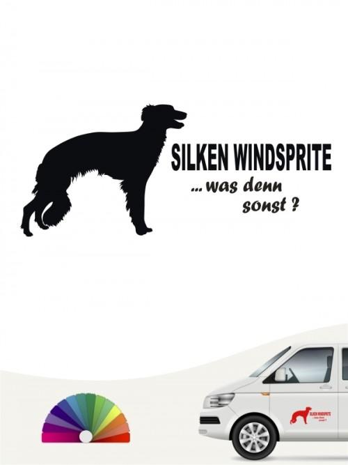 Hunde-Autoaufkleber Silken Windsprite 7 von Anfalas.de