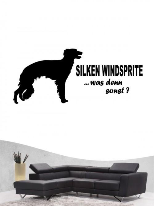 Hunde-Wandtattoo Silken Windsprite 7 von Anfalas.de