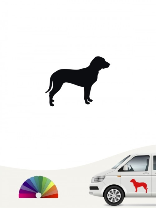 Hunde-Autoaufkleber Slovensky Kopov 1 Mini von Anfalas.de