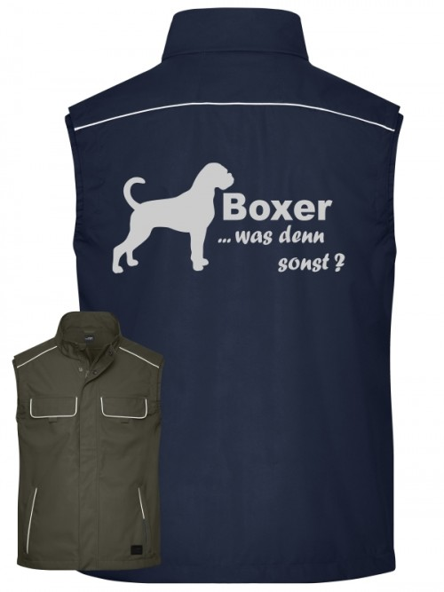Softshell Weste Boxer anfalas