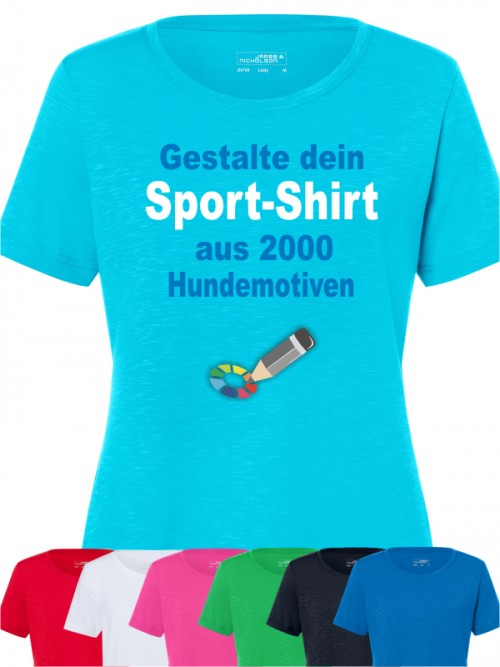 Sport T-Shirt für Hundehalter
