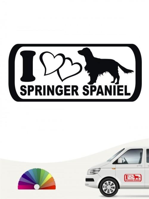 Hunde-Autoaufkleber Springer Spaniel 6 von Anfalas.de