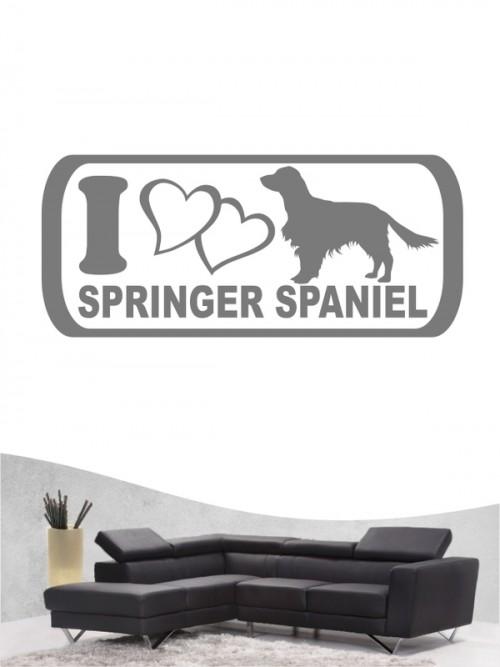 Hunde-Wandtattoo Springer Spaniel 6 von Anfalas.de