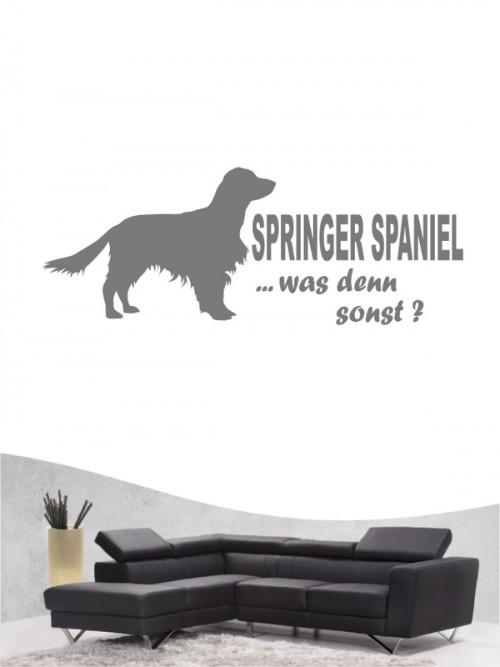 Springer Spaniel 7 - Wandtattoo