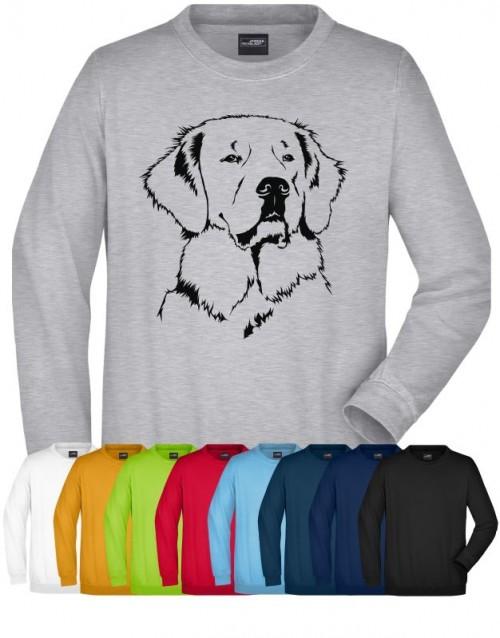 Sweatshirt mit Hundemotiv von Anfalas.de