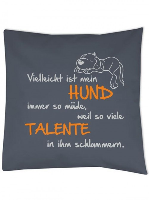 "Kissenbezug ""Talente"" von anfalas.de"