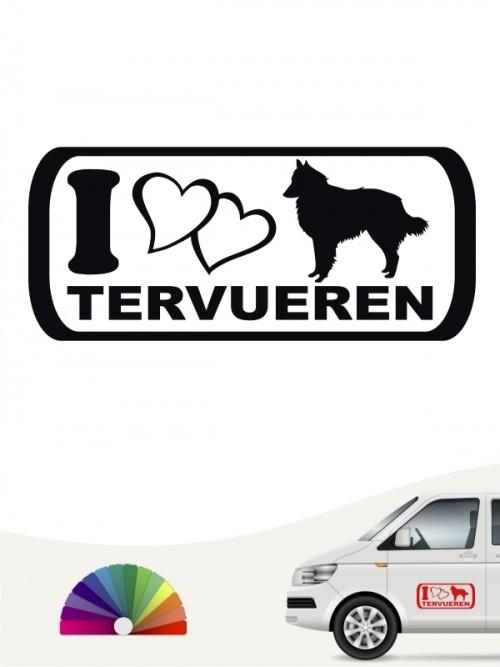 Hunde-Autoaufkleber Tervueren 6 von Anfalas.de