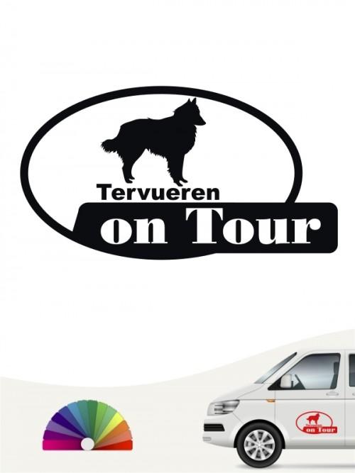 Tervueren on Tour Autoaufkleber anfalas.de