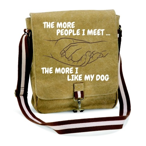 "Canvas-Tasche ""The more people"""