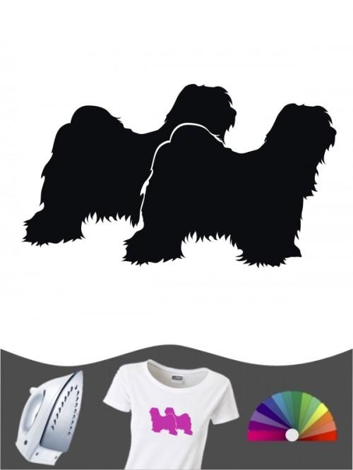 Tibet Terrier 2 - Bügelbild