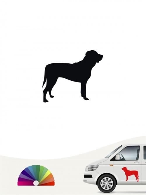 Hunde-Autoaufkleber Tosa Inu 1 Mini von Anfalas.de
