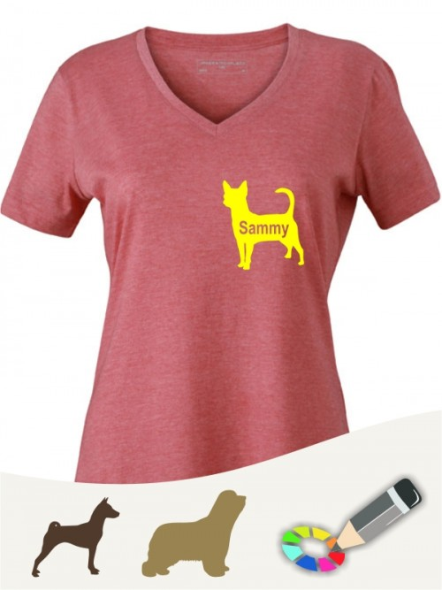 V-Shirt für Hundesportler