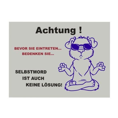Warnschild_lustig_Hund_Selbstmord_Anfalas.de_4