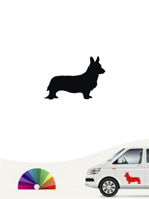 Hunde-Autoaufkleber Welsh Corgi 1 Mini von Anfalas.de
