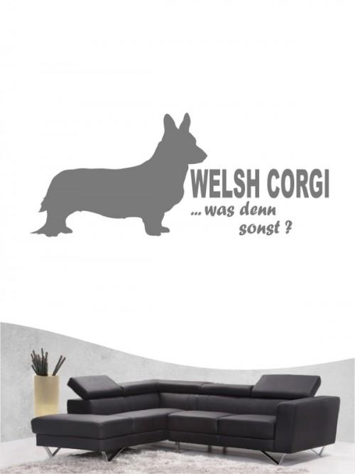 Welsh Corgi 7 - Wandtattoo