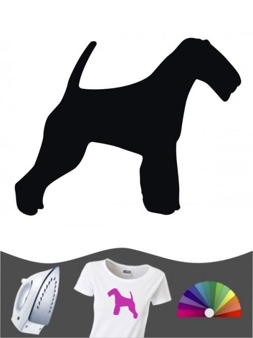 Welsh Terrier 1 - Bügelbild