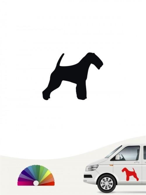 Welsh Terrier Heckscheibenaufkleber anfalas.de