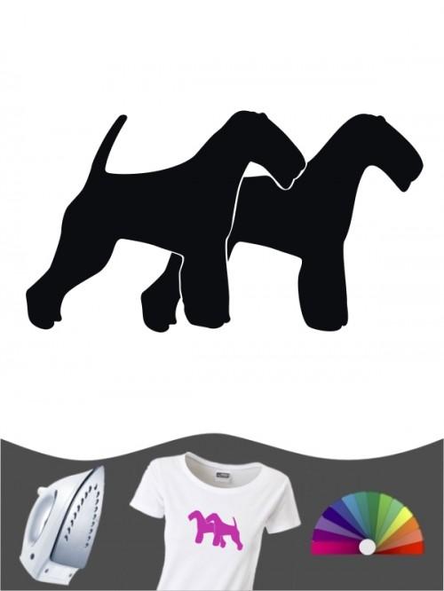 Welsh Terrier 2 - Bügelbild