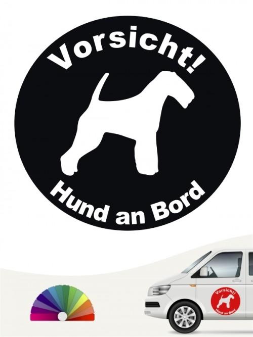 Welsh Terrier Aufkleber von anfalas.de