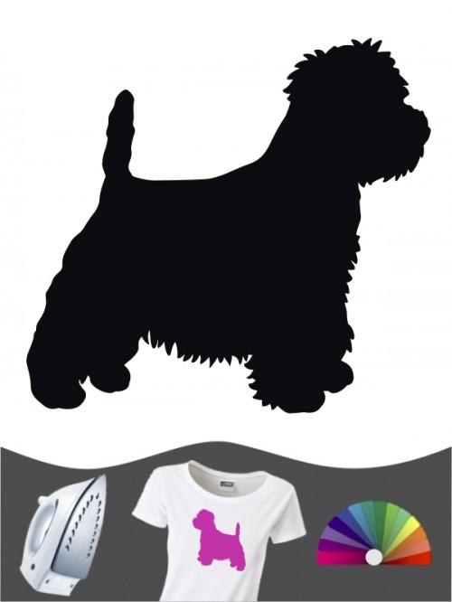 West Highland Terrier 1 - Bügelbild