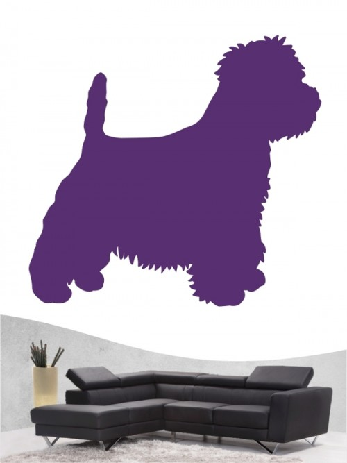 West Highland Terrier 1 - Wandtattoo
