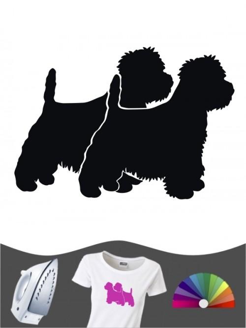 West Highland Terrier 2 - Bügelbild