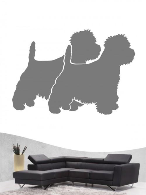 West Highland Terrier 2 - Wandtattoo
